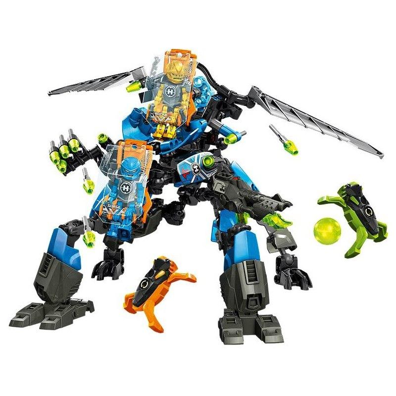 LEGO Hero Factory 44028 - Bojový stroj SURGE a ROCKA