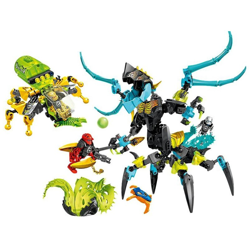 LEGO Hero Factory 44029 - KRÁLOVNA MONSTER versus FURNO, EVO a STORMER