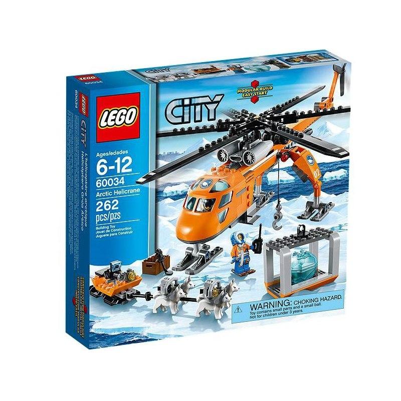 LEGO City 60034 - Polární heli-jeřáb