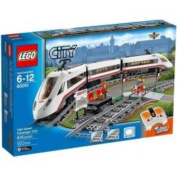 LEGO City 60051 - Vysokorychlostní osobní vlak