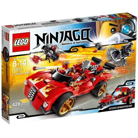 LEGO Ninjago 70727 - Kaiův červený bourák