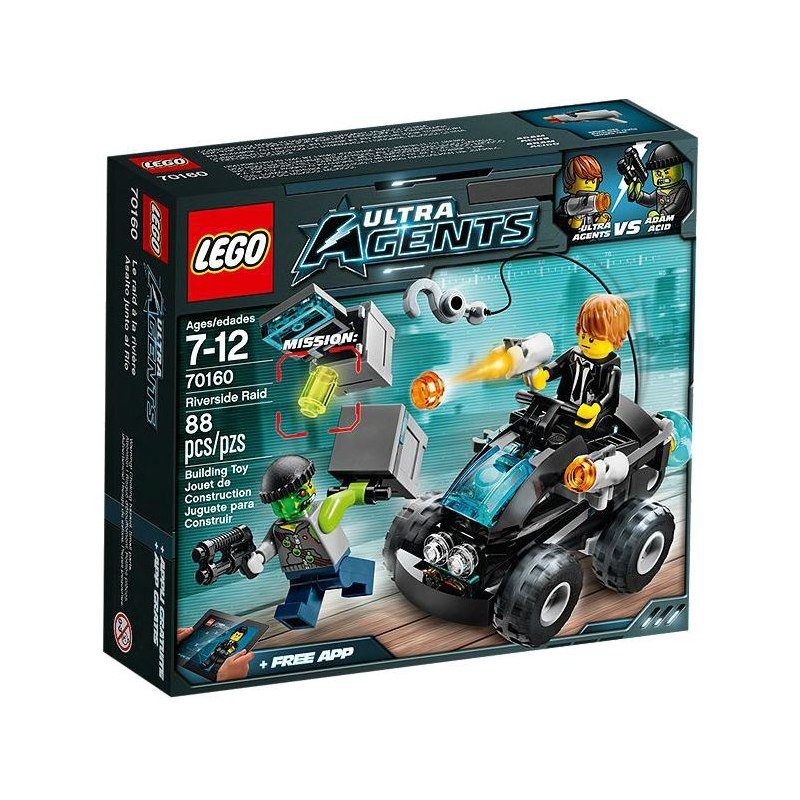 LEGO Ultra Agents 70160 - Pobřežní nájezd