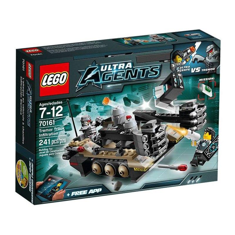 LEGO Ultra Agents 70161 - Otřesy na trati