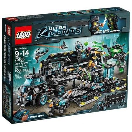 LEGO Ultra Agents 70165 - Centrála ultra agentů misí