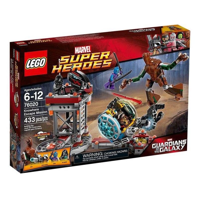 LEGO Super Heroes 76020 - Úniková mise