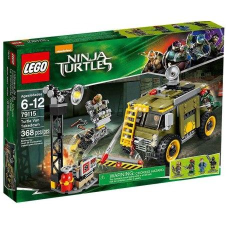 LEGO Želvy Ninja 79115 - Zničení želví dodávky