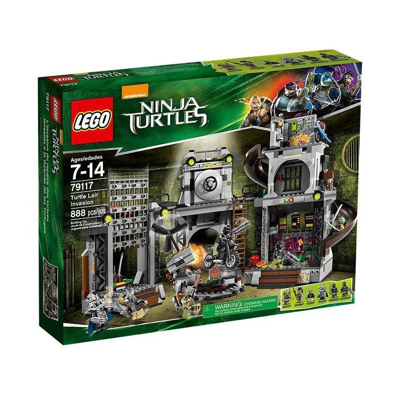 LEGO Želvy Ninja 79117 - Invaze do želvího doupěte