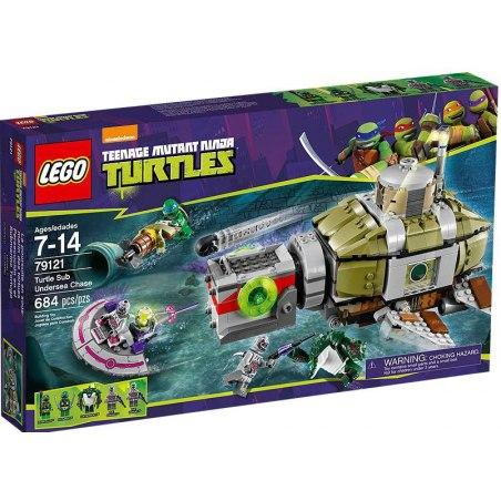 LEGO Želvy Ninja 79121 - Želví podmořská honička