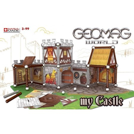 Geomag Castle Basic - Hrad