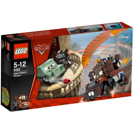LEGO Cars 9483 - Agent Burák na útěku