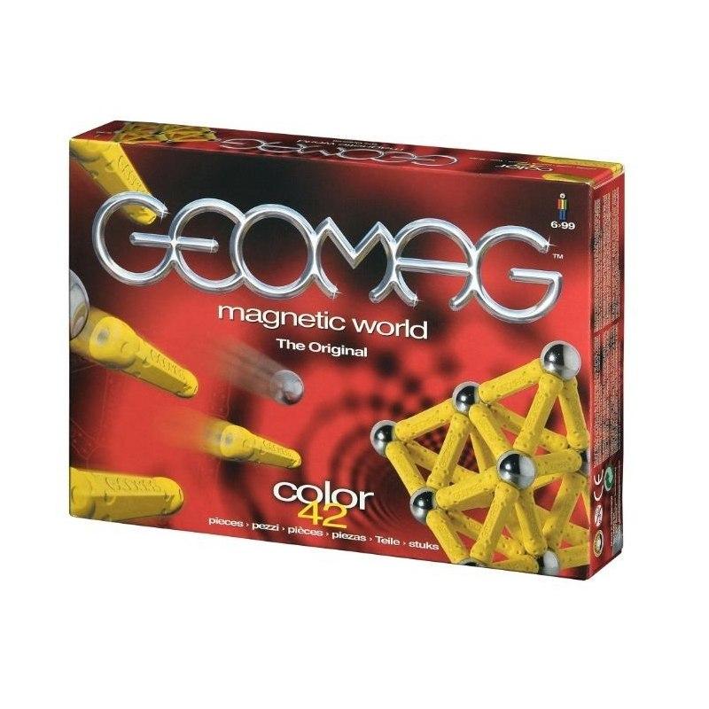 Geomag Color 42 - Geocolor 42 červená