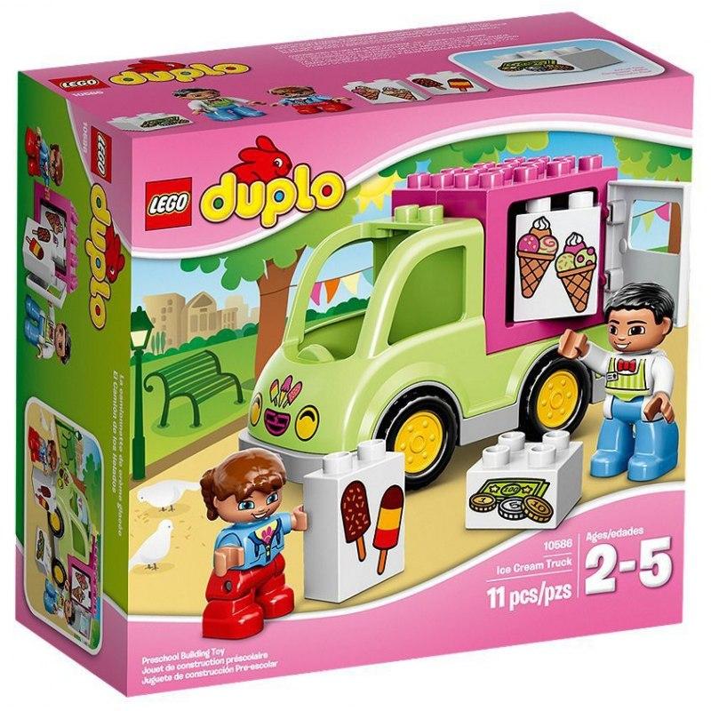 LEGO DUPLO 10586 Zmrzlinářská dodávka