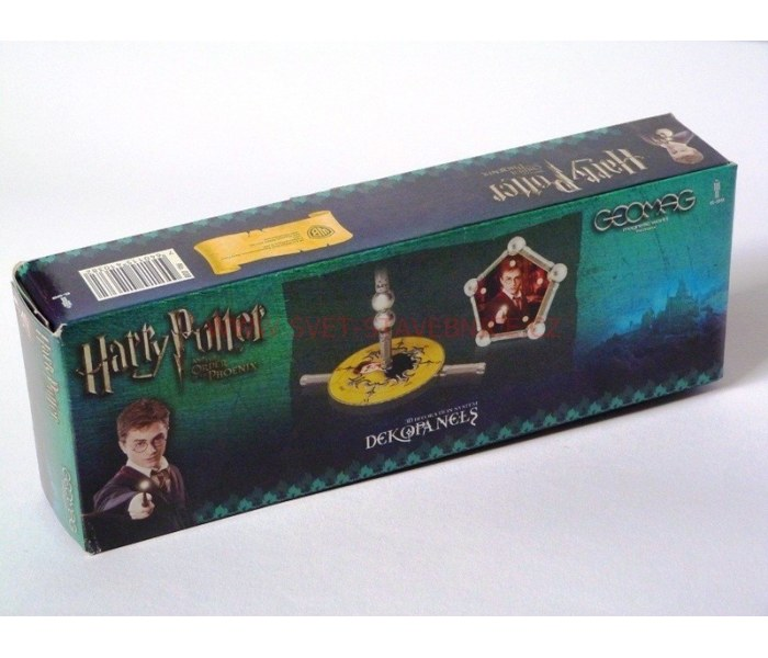 geomag deko harry potter mini. Black Bedroom Furniture Sets. Home Design Ideas