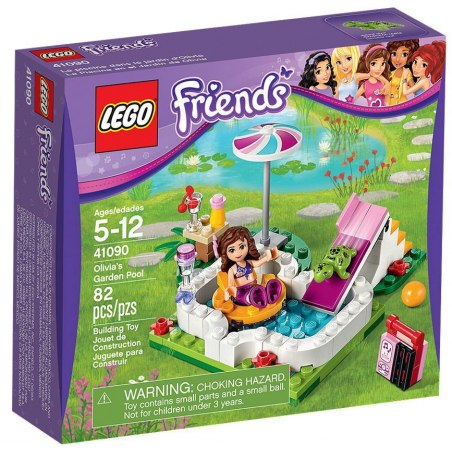 LEGO Friends 41090 Zahradní bazén Olivie
