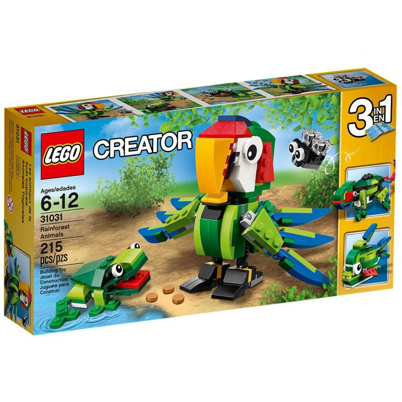LEGO Creator 31031 Zvířata z deštného pralesa