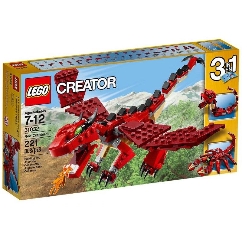 LEGO Creator 31032 Červené příšery
