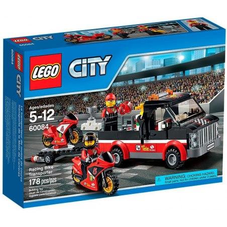 LEGO City 60084 Přepravní kamión na závodní motorky