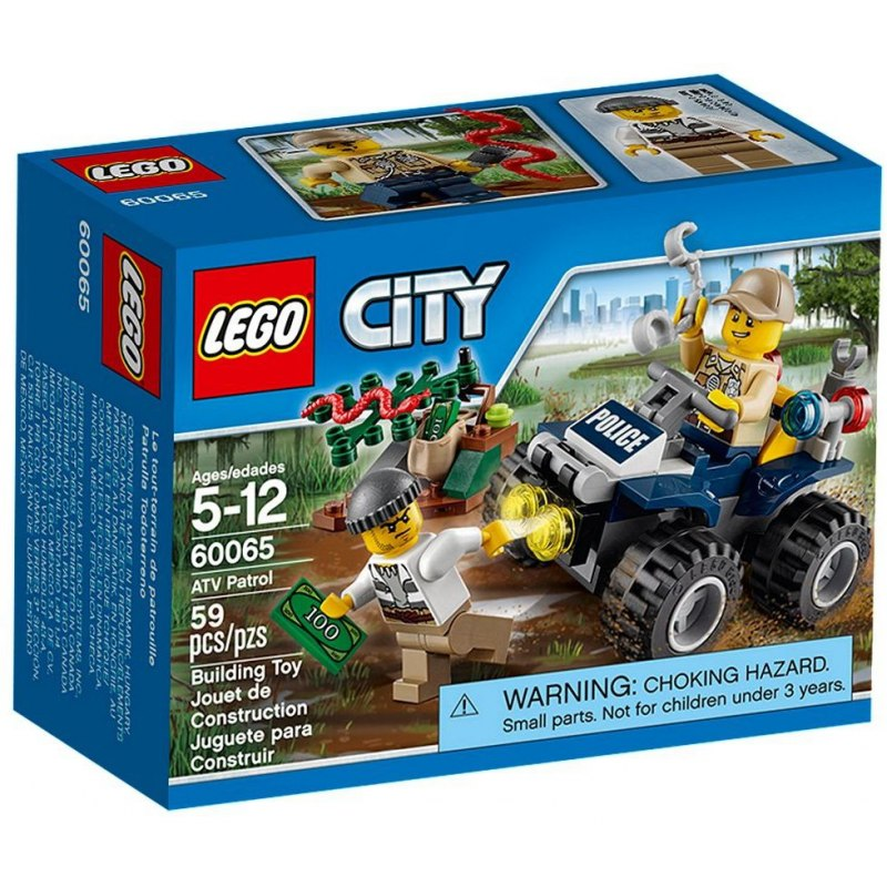 LEGO City 60065 Hlídka ATV