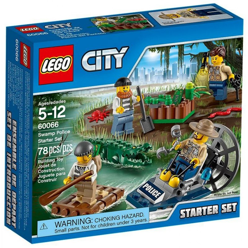 LEGO City 60066 Speciální policie - startovací sada
