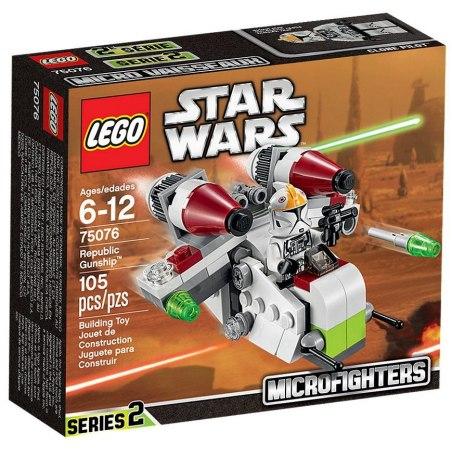 LEGO Star Wars 75076 Válečná loď Republiky