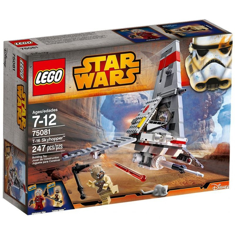 LEGO Star Wars 75081 T-16 Skyhopper