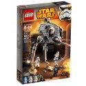 Hlídkuj v ulicích hlavního města v dvojnohém vojenském robotovi AT-DP z LEGO Star Wars. V oblasti byli hlášeni rebelové, tak naskoč do kokpituazavři poklop.