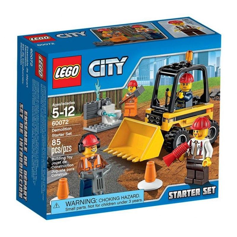 LEGO City 60072 Demoliční práce – startovací sada
