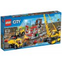 LEGO City 60076 Demoliční práce na staveništi