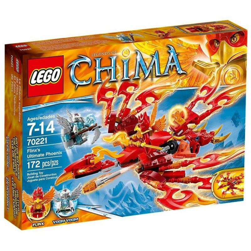 LEGO Chima 70221 Flinxův úžasný Fénix