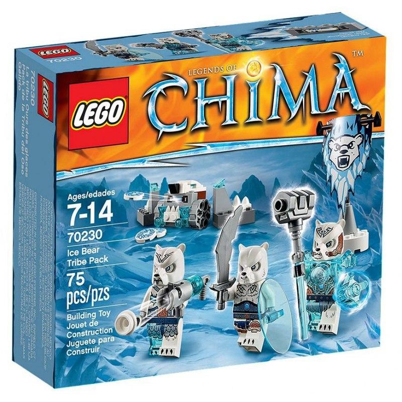 LEGO Chima 70230 Smečka kmene Ledních medvědů
