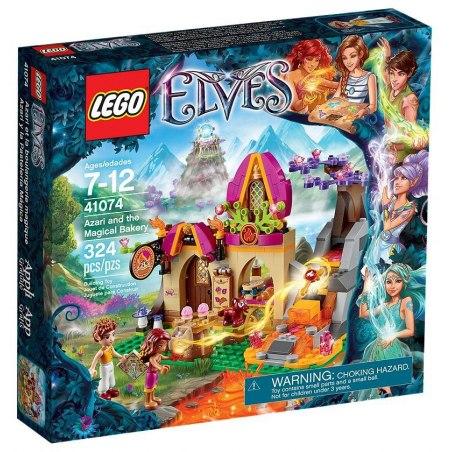 LEGO Elfové 41074 Azari a kouzelná pekárna