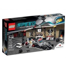 LEGO Závodní šampióni 75911 Zastávka vboxech pro McLaren Mercedes