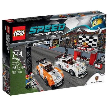 LEGO Závodní šampióni 75912 Porsche 911 GT vcílové rovince