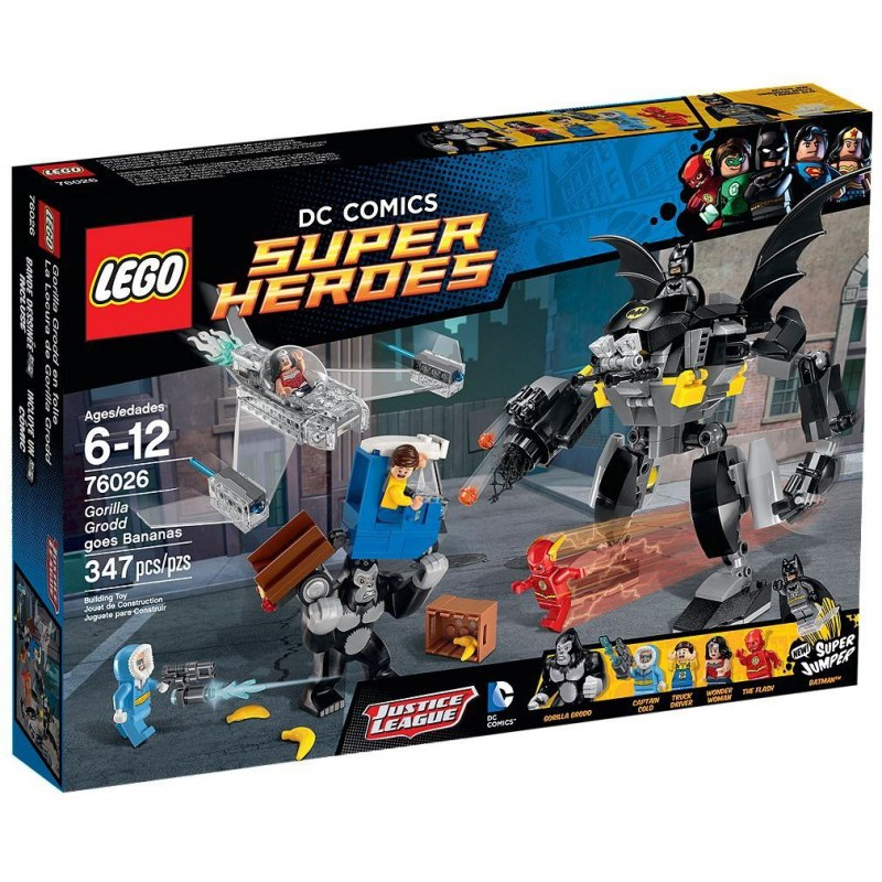LEGO Super Heroes 76026 Řádění Gorily Grodd