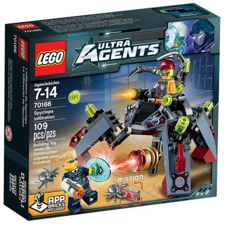 LEGO Agents 70166 Nájezd Spyclopse