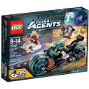 LEGO Agents 70167 Invizable utíká se zlatem