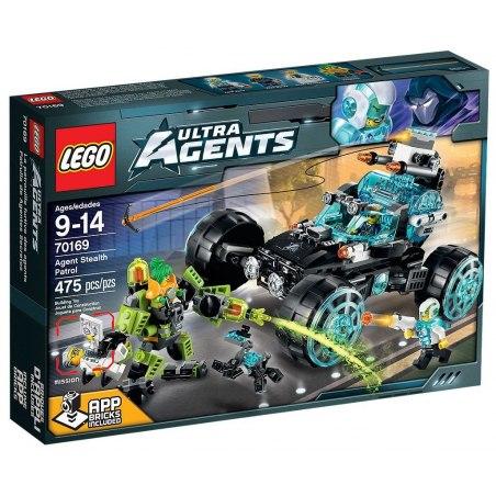LEGO Agents 70169 Hlídka tajných agentů