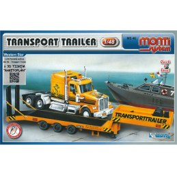 Monti System MS 46.3 - Transport Trailer 3D tisk 1:48