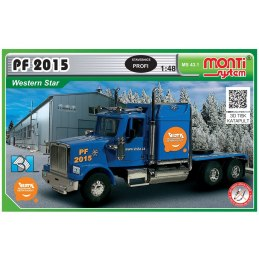 Monti MS 43.1 Racing Truck PF 2015 3D Tisk 1:48