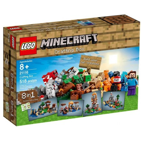 LEGO Minecraft 21116 - Crafting box
