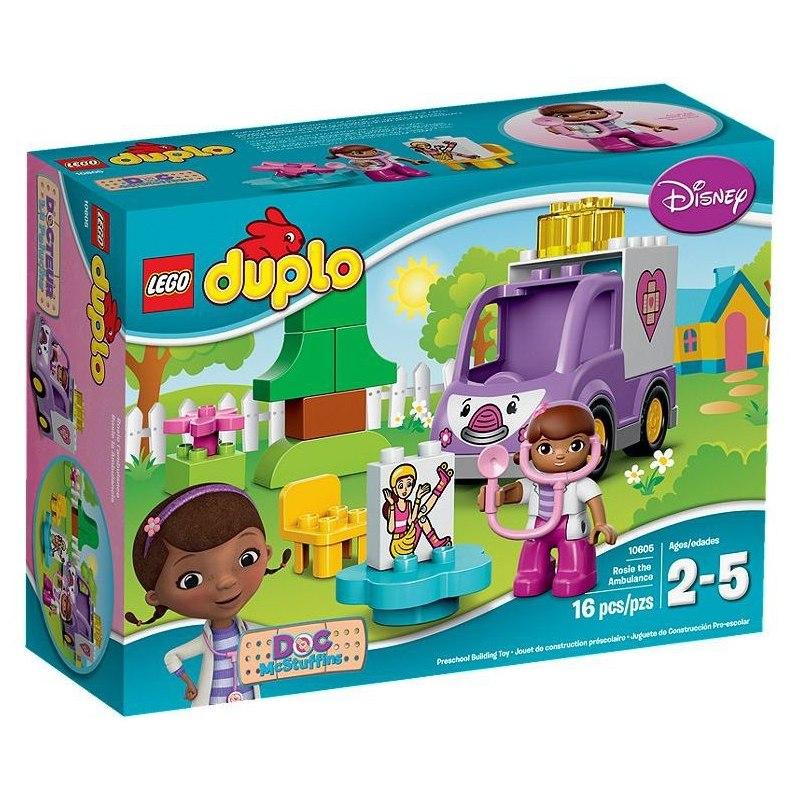 LEGO DUPLO Doktorka Plyšáková 10605 Sanitka Rosie