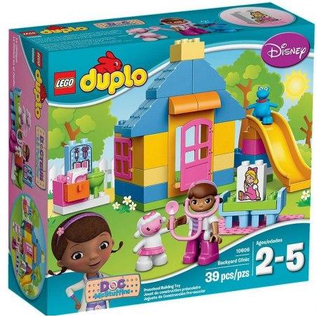 LEGO DUPLO Doktorka Plyšáková 10606 Ordinace na dvorku