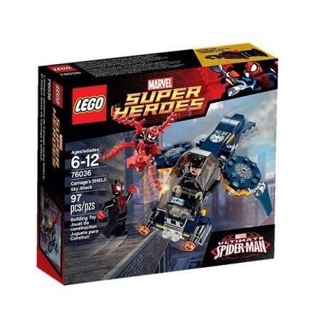 LEGO Super Heroes 76036 Carnagův vzdušný útok na SHIELD