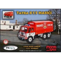 Monti System MS 1233 - Tatra HASIČI Lysá nad Labem 1:48