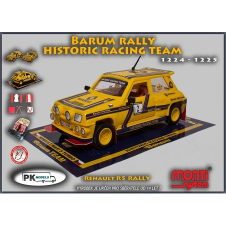Monti System MS 1224/25 - Renault R5 Barum rally historic team 1:28