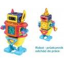Magformers - Chodící roboti, 45 dílků