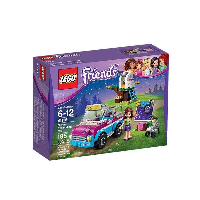 LEGO Friends 41116 Olivie a její průzkumné auto