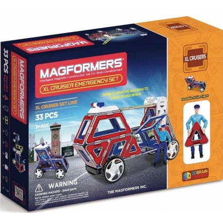 Magformers XL Cruiser Emergency 33 PCS