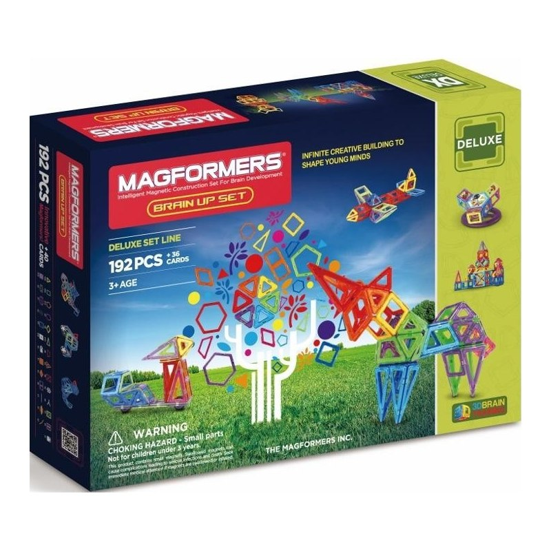 Magformers - MF 192 Brain Up