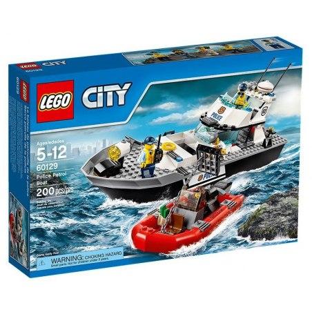 LEGO City 60129 Policejní hlídková loď
